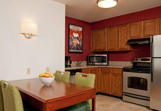 Grandville, MI: Two-Bedroom Suite Kitchen