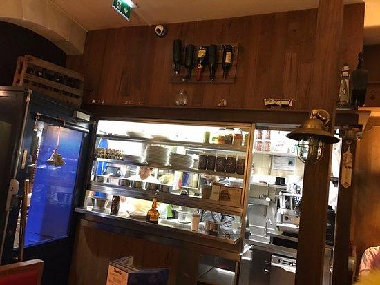 Chez Suzette: The kitchen