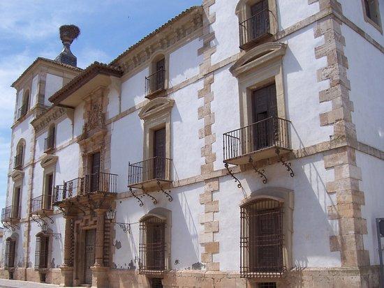 Tembleque, Spanje: Fachada principal Palacio de las Torres