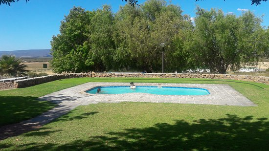 Piketberg, South Africa: Sparkling pool