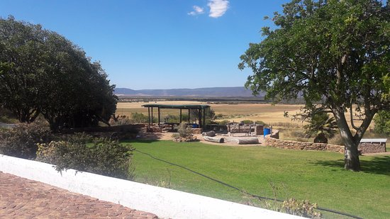 Piketberg, South Africa: The lapa
