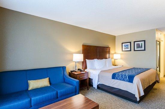 Comfort Inn Randolph: Guest Room