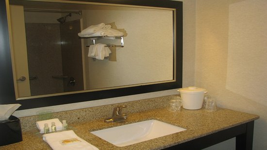 Holiday Inn - Concord Downtown: Guest Bathroom