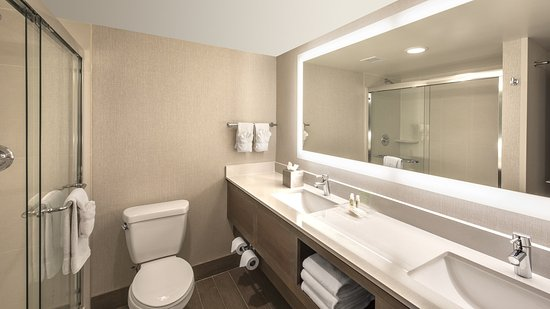 Lakewood, CO: King Suite Bathroom with walkin shower