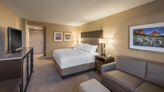 Lakewood, CO: King Guestroom with Sleeper Sofa