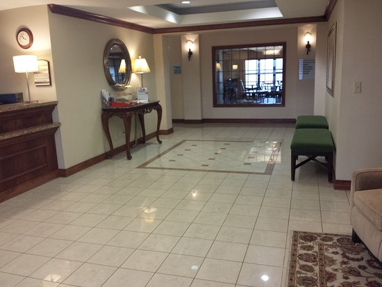 Hotel lobby at Holiday Inn Express & Suites Concordia, KS