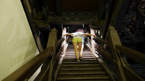 Datong, China: l'escalier... très raide