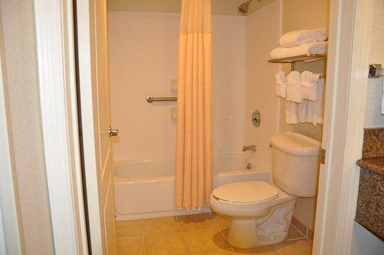 แฮซเลต, นิวเจอร์ซีย์: Executive Room Bathroom