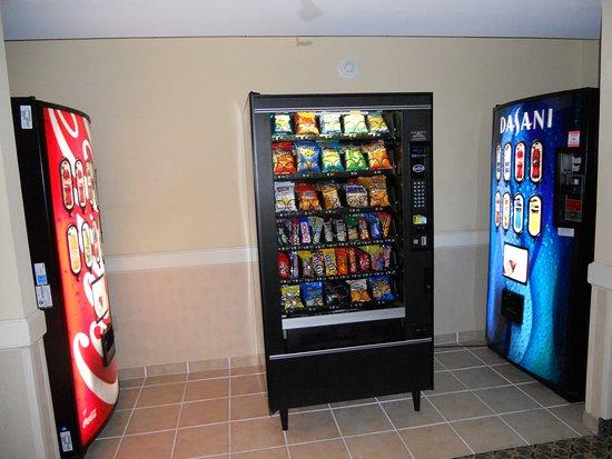 แฮซเลต, นิวเจอร์ซีย์: Grab a drink or snack from our vending machines