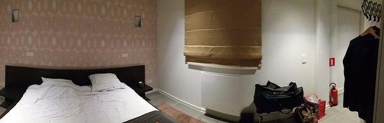 Turnhout, Belgia: slaapgedeelte met voldoende kastruimte