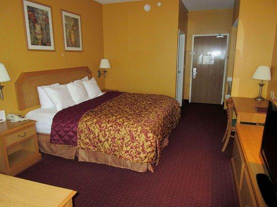 Warsaw, Missouri: Standard king room