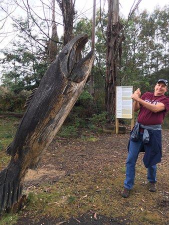 Deloraine, Australië: Beautiful wood work