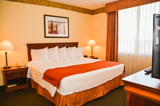 Country Inn & Suites By Carlson, London South, ON: One Bedroom Suite-Bedroom