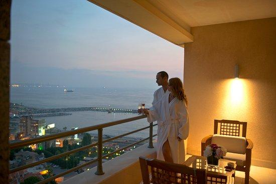 Dbayeh, Líbano: Duplex Suite Balcony