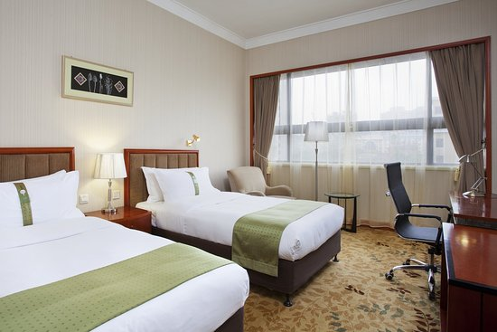 Zhengzhou, Chiny: Double Bed Guest Room