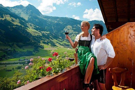 Dorfgastein, Austria: View from apartment bacony