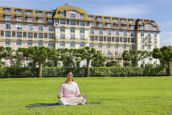 Hôtel Barrière Le Royal Deauville : Yoga class