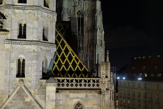 Hotel Am Stephansplatz : Stephansdom at night