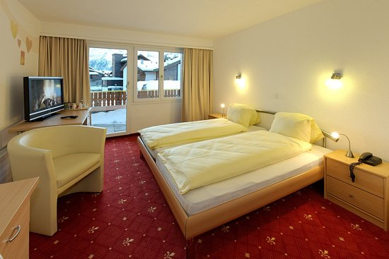 Graechen, Switzerland: Double Room