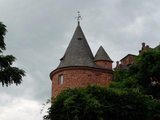 Meyssac, Γαλλία: vue des tours