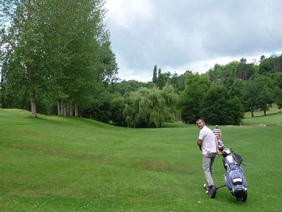 Meyssac, فرنسا: moi sur le golf de brive