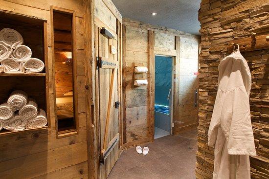 Belvedere Swiss Quality Hotel: Sauna