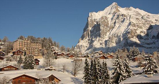Belvedere Swiss Quality Hotel: Winterbild Webseite