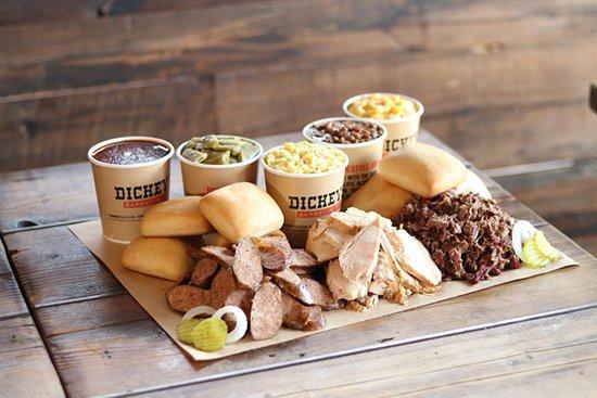 Amherst, NY: Meat Platter Sampler.