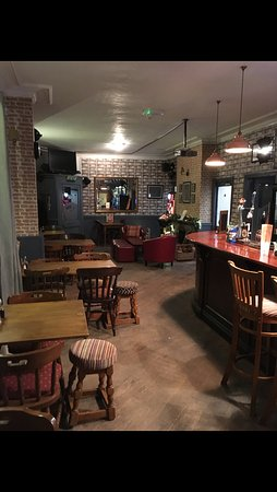 Keynsham, UK : Our Renovated Bar Area