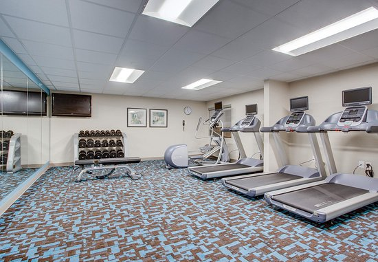 Amesbury, Массачусетс: Fitness Center