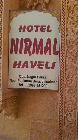 Foto de Hotel Nirmal Haveli