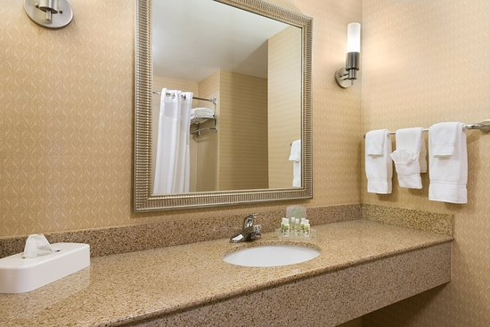 Sandston, VA: ADA/Handicapped accessible Guest Bathroom with mobility tub