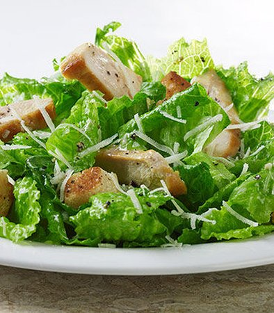 Denton, Teksas: Chicken Caesar Salad