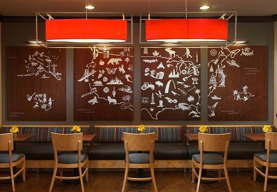 Shenandoah, تكساس: Dining Area