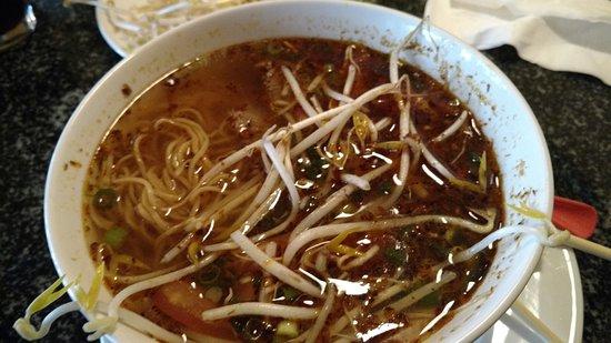 Thai Siam Restaurant: Este es uno de los platillos que pedí y podías diferenciar cada sabor a pesar de ser un platillo