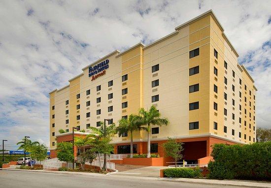 Fairfield Inn & Suites Miami Airport South: Exterior