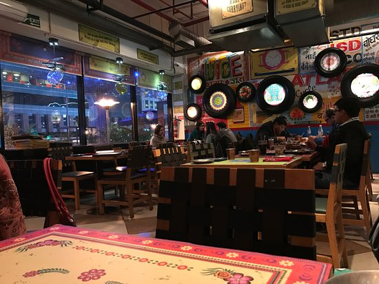 authentic dhaba style interiors picture of dhaba by claridges