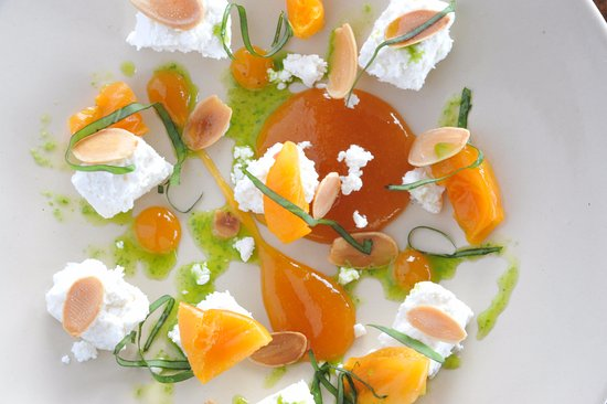 The Charlton Arms Terrace Restaurant: Apricot & Meringe