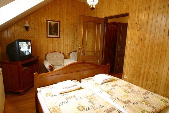 Kromeriz, Czech Republic: Standard double room