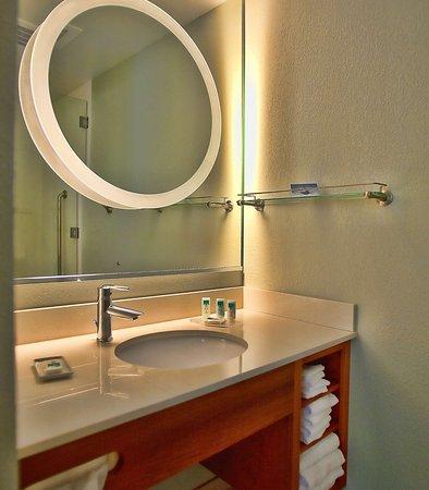 โรเซนเบิร์ก, เท็กซัส: Suite Bathroom