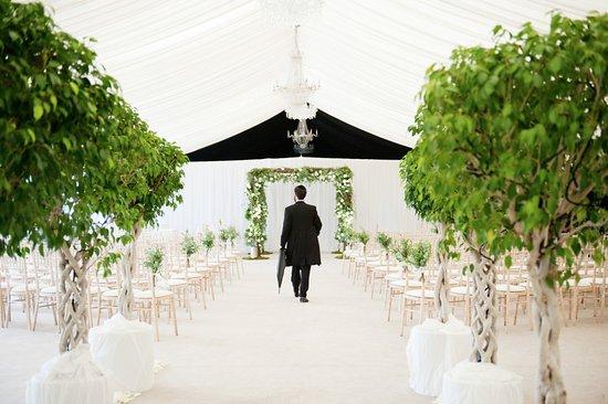 Bishopton, UK: Ceremony Garden Pavilion