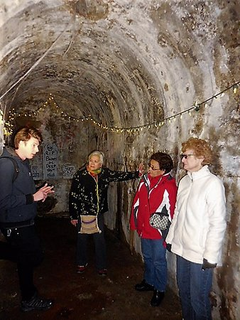 San Francisco Native Tours Underground Tunnel