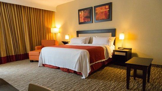 San Juan del Río, México: King Bed Guest Room