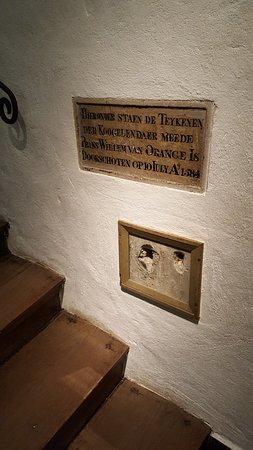 Museum Prinsenhof Delft: De kogelgaten......