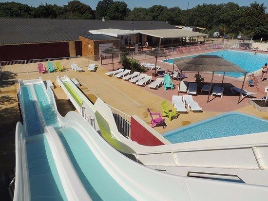 Herault, Francia: Espace aquatique Camping Domaine de Gajan