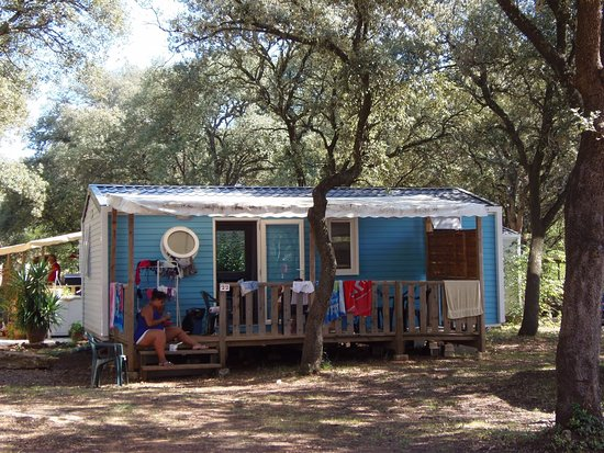 Herault, Francia: Mobil Home Tribu Camping Domaine de Gajan