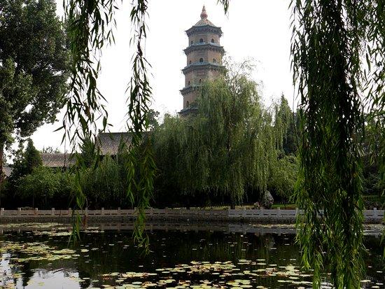 Taiyuan, China: la pagode