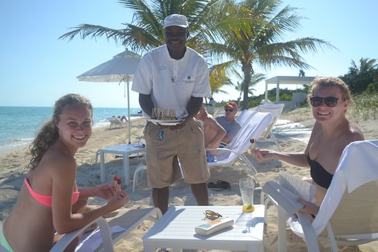 Long Bay Beach, Providenciales: ice fruit pops delivered beach side