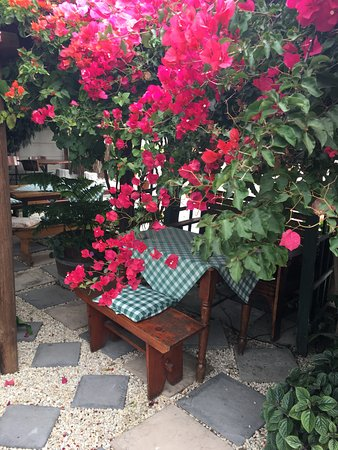 Thyme at Rosemary's Restaurant : Garden