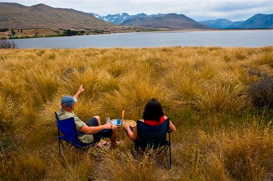 Ashburton, New Zealand: Lake Heron